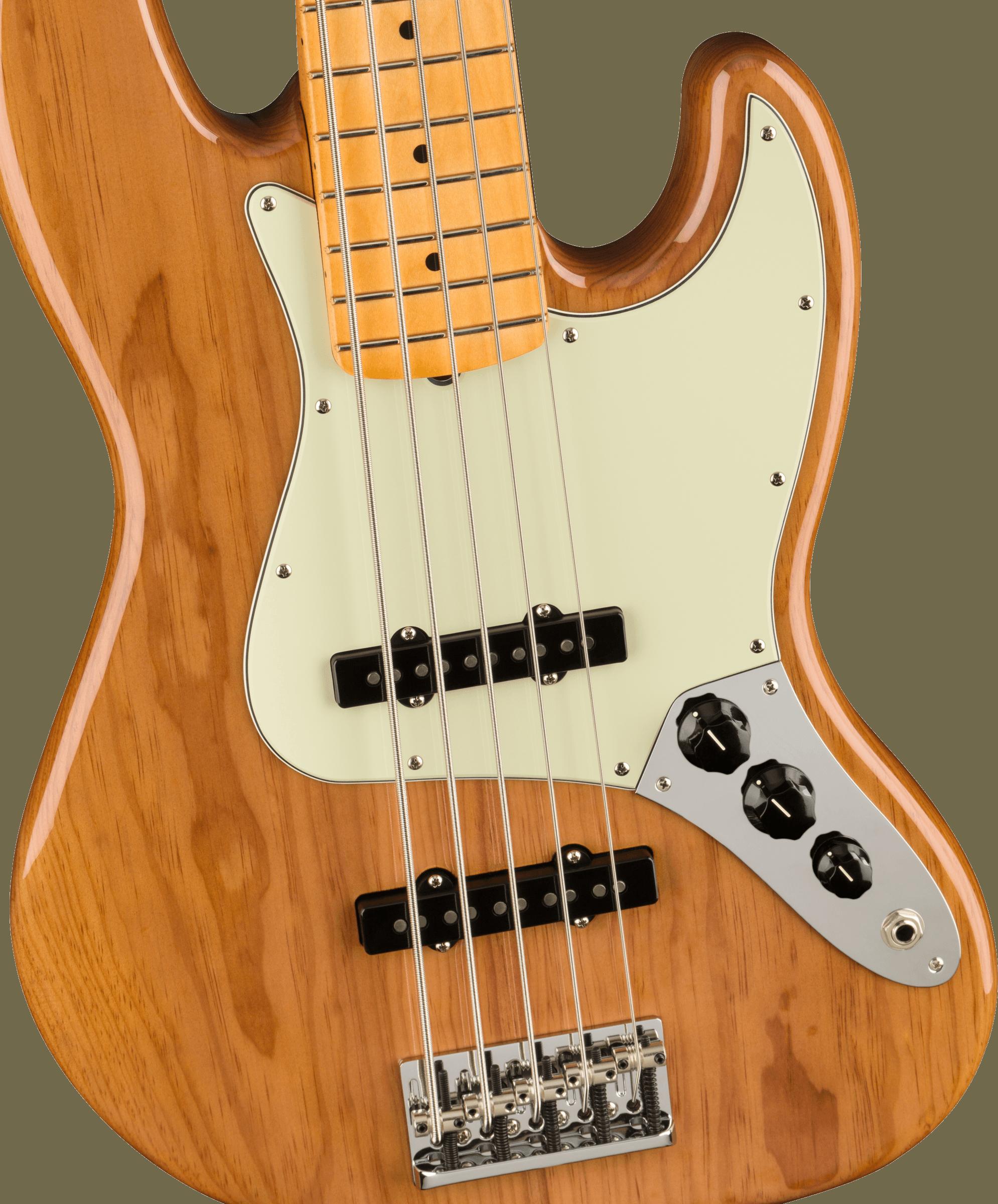 Fender American Professional II Jazz Bass® V, Maple Fingerboard, Roasted Pine