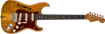 Fender Custom Shop Artisan Spalted Maple Stratocaster® Thinline, Roasted Ash Body with Spalted Maple Top, Ebony Fingerboard, Aged Natural