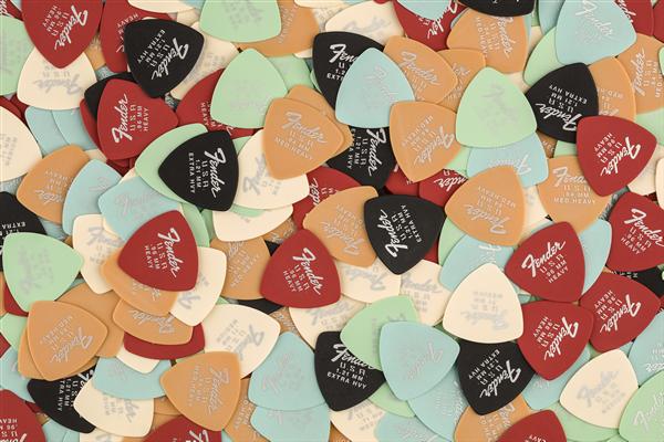 Fender Dura-Tone® Delrin Pick, 346-shape, 12-Pack