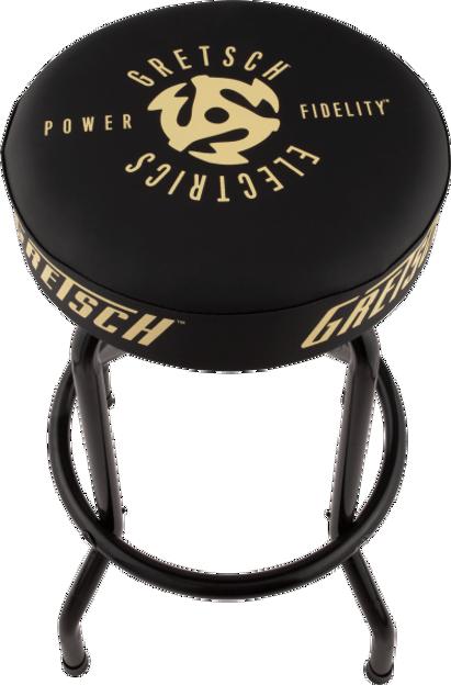 "Gretsch P&F Barstool, Black, 30"""