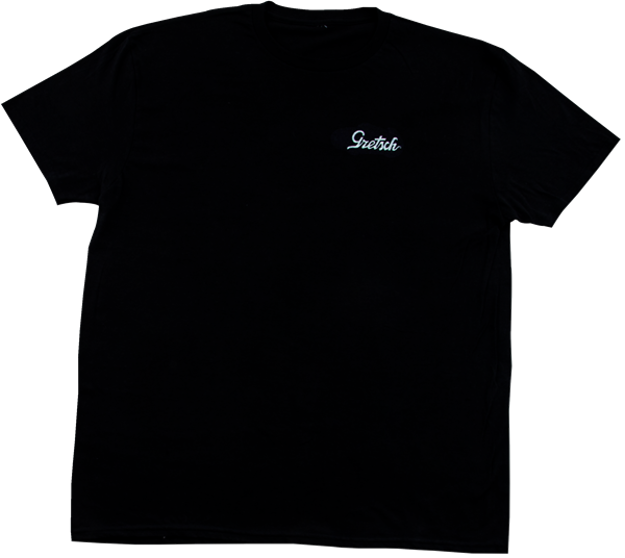 Gretsch Power & Fidelity™ 45RPM Graphic T-Shirt, Black, M