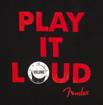 Fender Play it Loud Hoodie, Blk S
