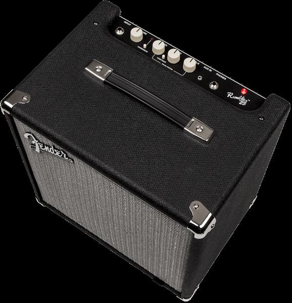 Fender Rumble™ 25 (V3), 230V EUR, Black/Silver