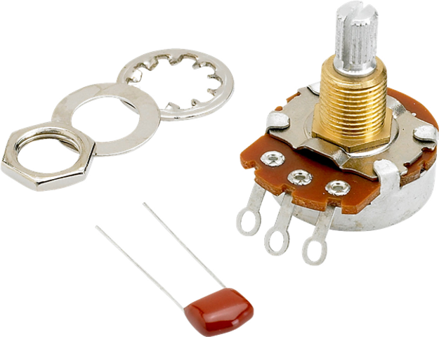 Fender 500K Split Shaft Potentiometer (Volume or Tone)