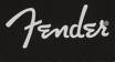 Fender Spaghetti Logo Men's Tee, Black, Small