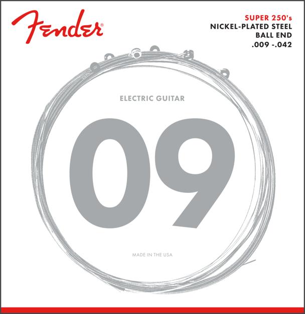 Fender Super 250's Nickel-Plated Steel Strings