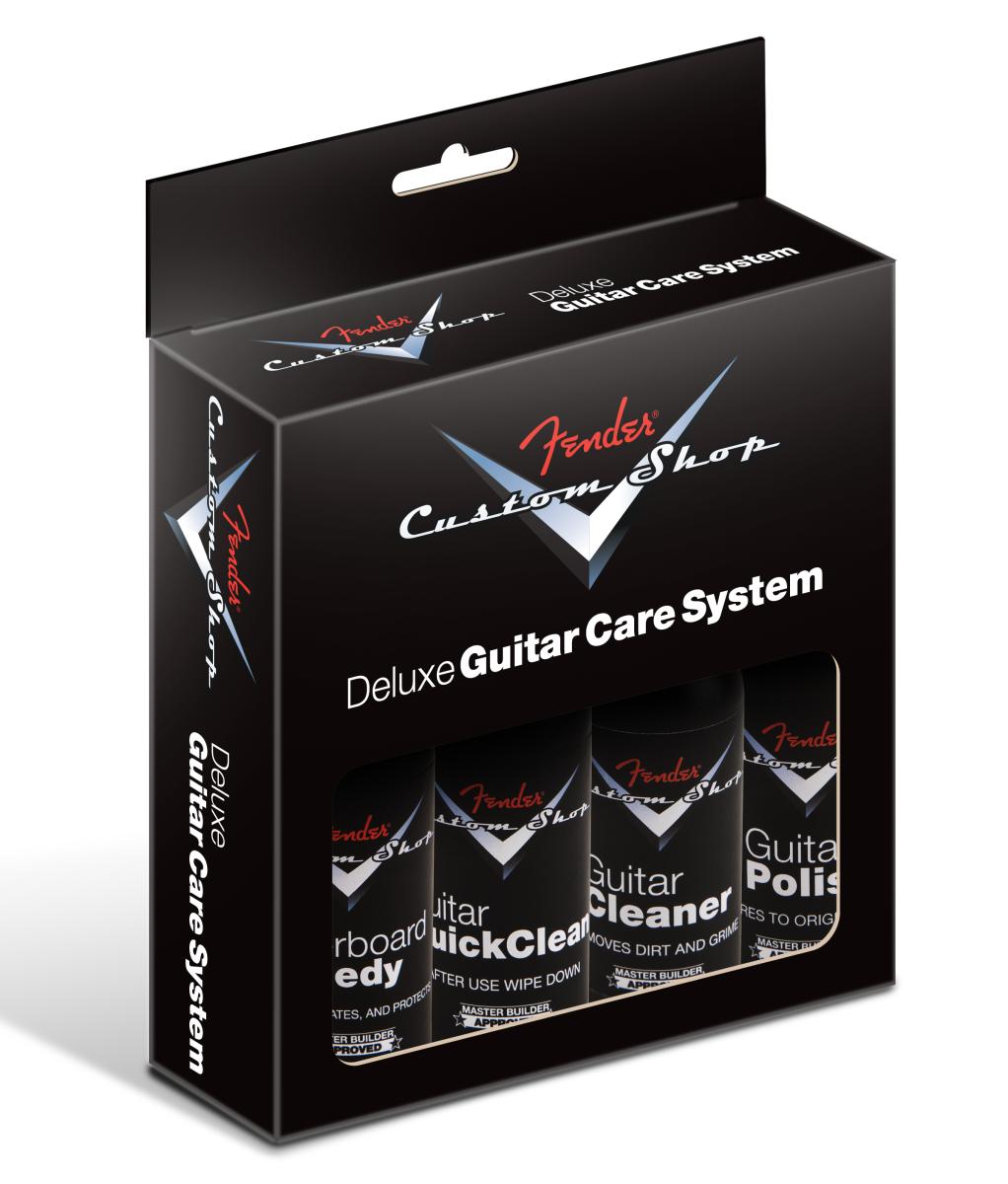 Fender Custom Shop 4-Step Cleaning Kit (4 pack)