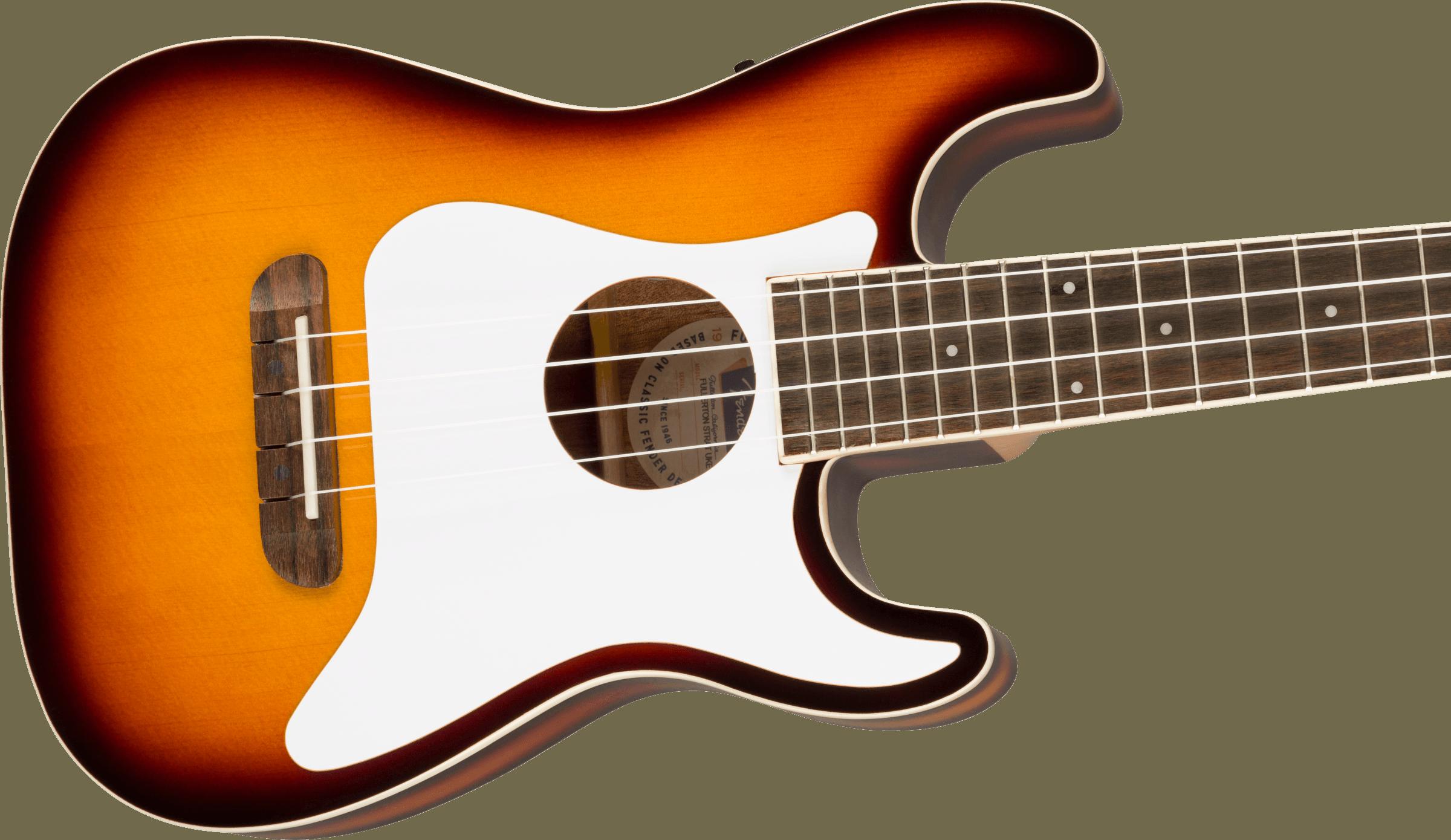 Fender Fullerton Strat® Uke, Sunburst