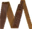 "Fender Broken-In Leather Strap, 2.5"""