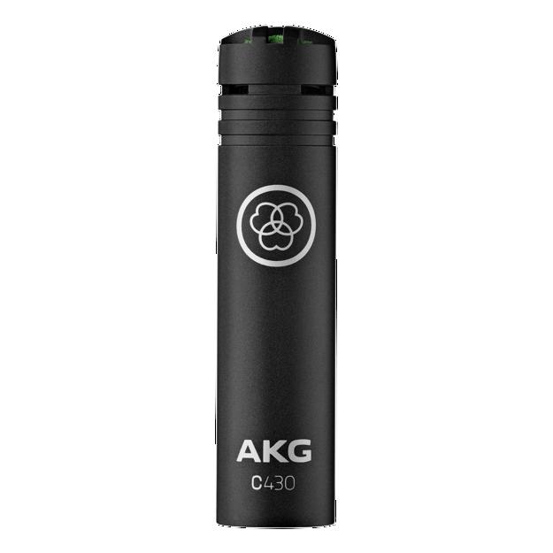AKG C430 | kondensatormikrofon, småmembran