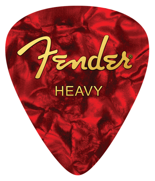Fender ™ Heavy Pick Mouse Pad, Red