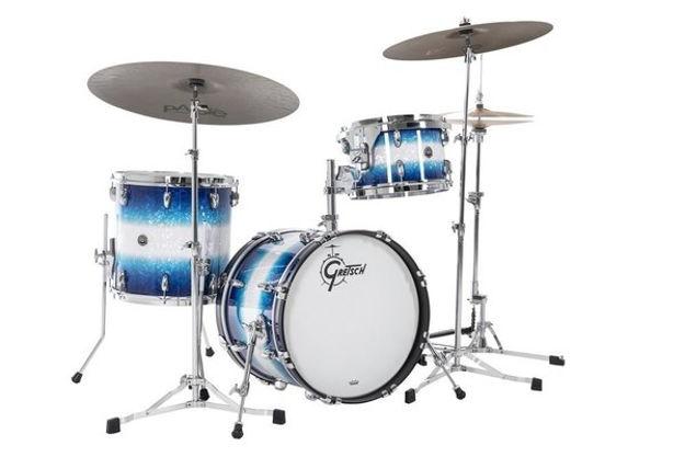 Gretsch shell set USA Brooklyn - Blue Burst Pearl