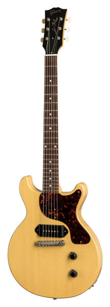 Gibson Customshop 1958 Les Paul Junior Double Cut Reissue VOS   TV Yellow