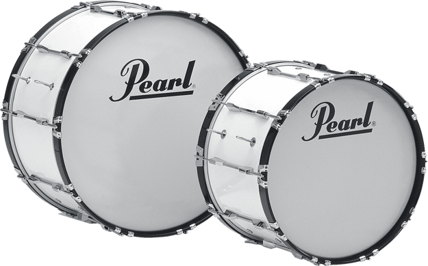 Pearl CMB2014N/C33 20x14 Competitor Marching Bass Drum (pure white)