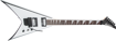 Jackson JS Series King V™ JS32, Amaranth Fingerboard, White with Black Bevels