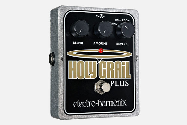 Electro-Harmonix HOLY GRAIL PLUS Variable Reverb, 9.6DC-200 PSU included