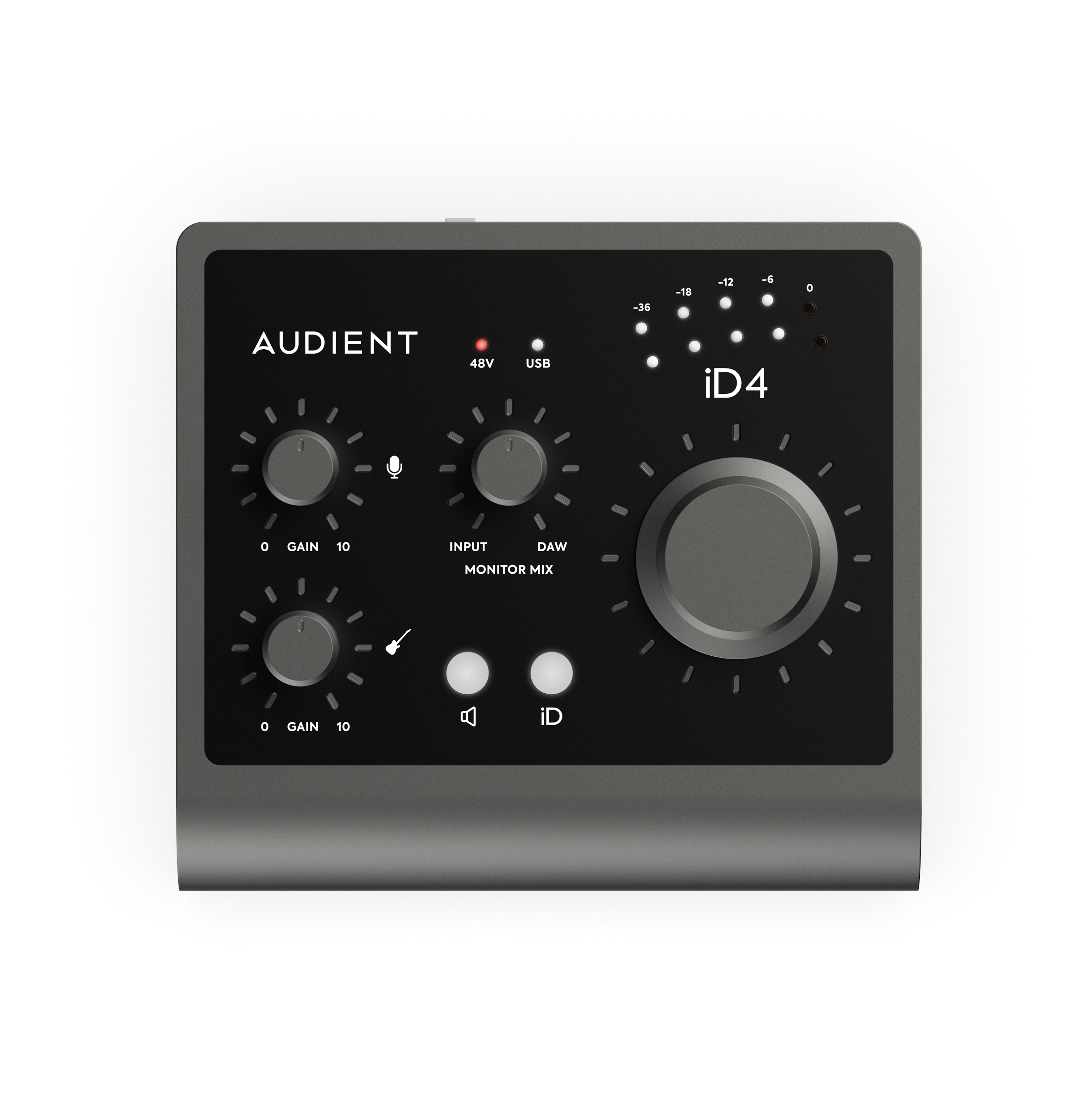 AUDIENT iD4 MkII - 2in/2out Audio Interface