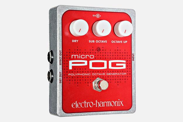 Electro-Harmonix MICRO POG Polyphonic Octave Generator, 9.6DC-200 PSU included
