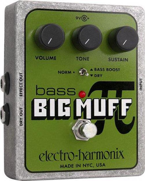 Electro-Harmonix BASS BIG MUFF PI Distortion/Sustainer Battery inc, 9.6DC-200 PSU optional