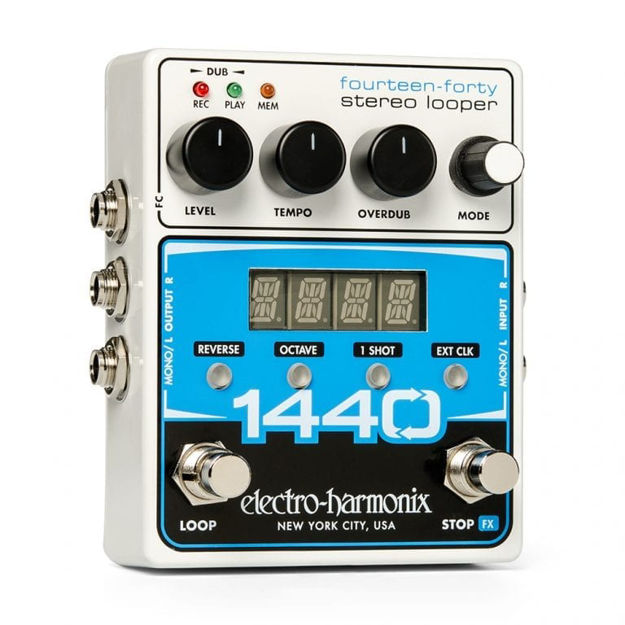 Electro-Harmonix 1440 STEREO LOOPER with 20 Loops & 24 Minutes Recording Time