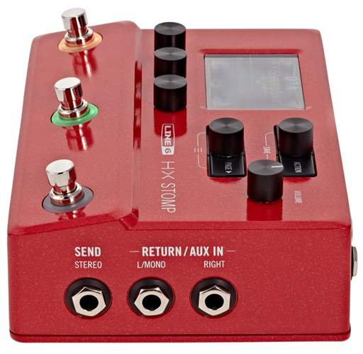 Line 6 Pod HX STOMP Red - LIMITED EDITION