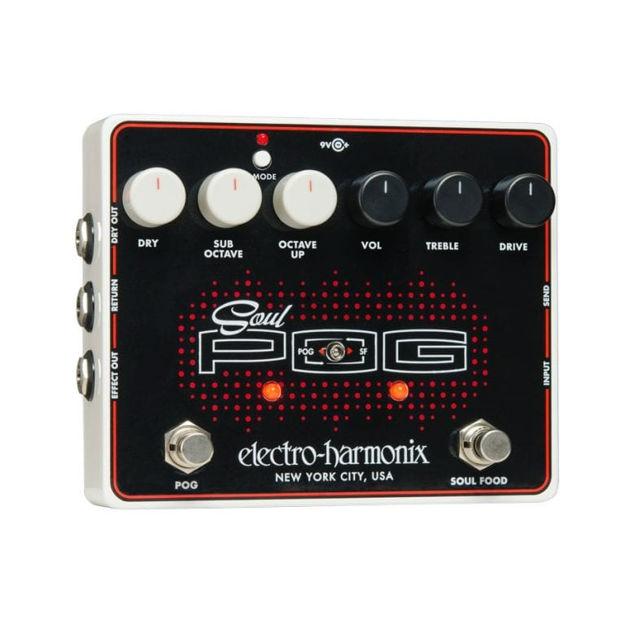 Electro-Harmonix SOUL POG Multi-effects Pedal: Nano POG, Soul Food, 9.6DC-200 PSU included