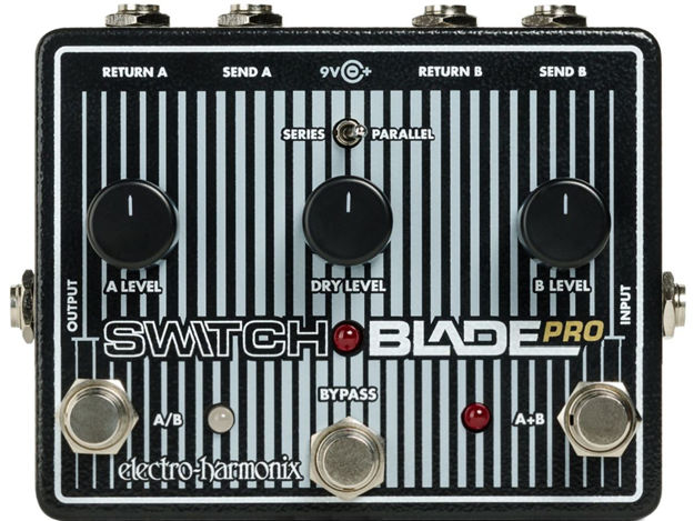 Electro-Harmonix SWITCHBLADE PRO Deluxe Switching Box, 9.6DC-200 PSU included