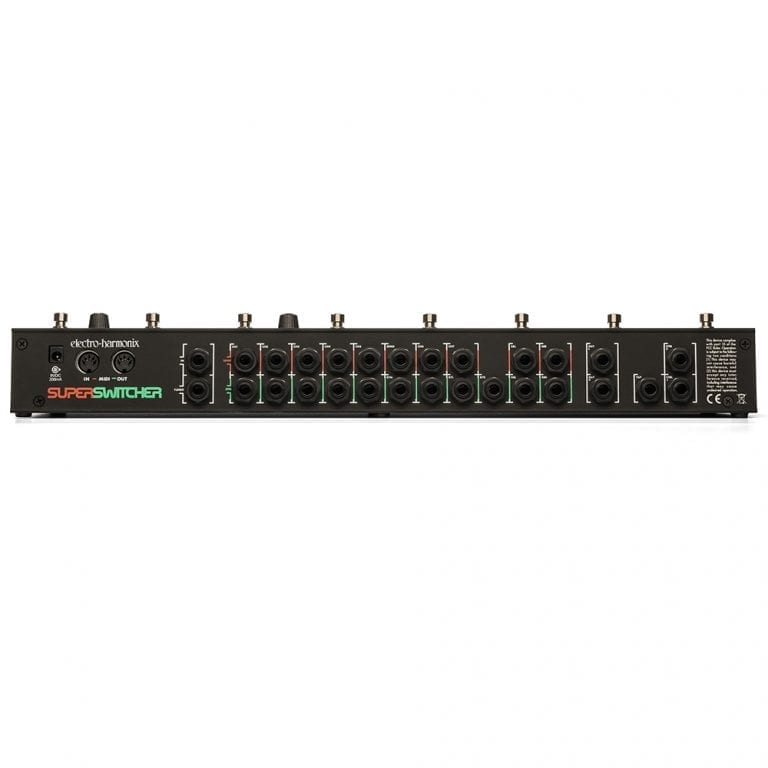 Electro-Harmonix SUPER SWITCHER Switching Control Center, 9.6DC-200 PSU included