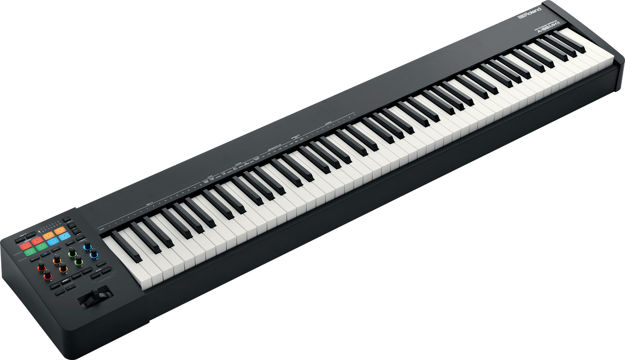 Roland A-88MKII - PRO-QUALITY WEIGHTED KEYS, MIDI KEYBOARD CONTROLLER
