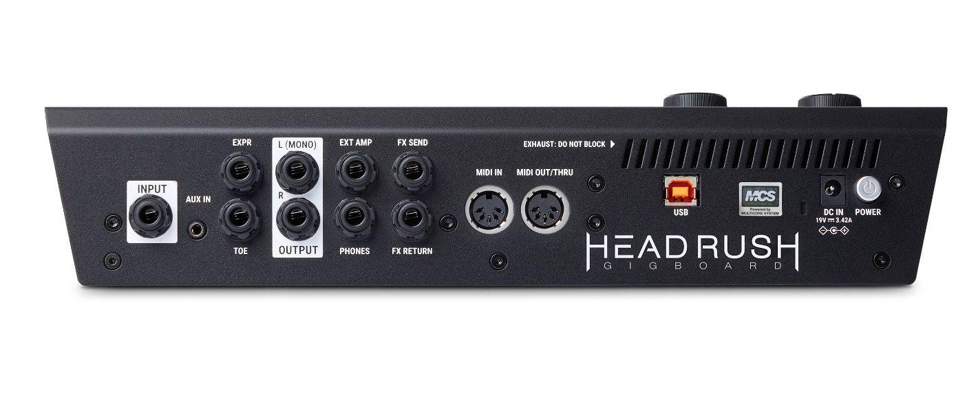 HeadRush Gigboard   Floorboard guitar FX