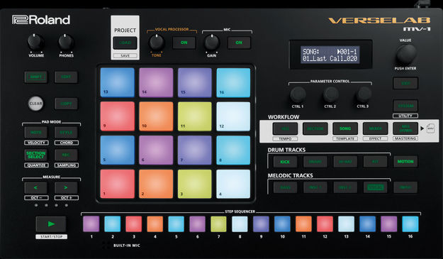 Roland MV-1 Verselab - Song Production Studio