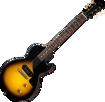 Gibson Customshop 1957 Les Paul Junior Single Cut Reissue VOS - Vintage Sunburst