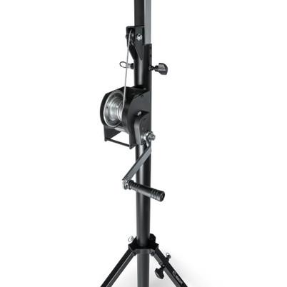 Adam Hall Stands SWU 400 T - Wind up stand with T-Bar black   pris pr stk
