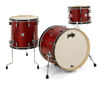 PDP by DW Shell set Concept Classic  Wood Hoop - Ox Blood Stain/Ebony hoop