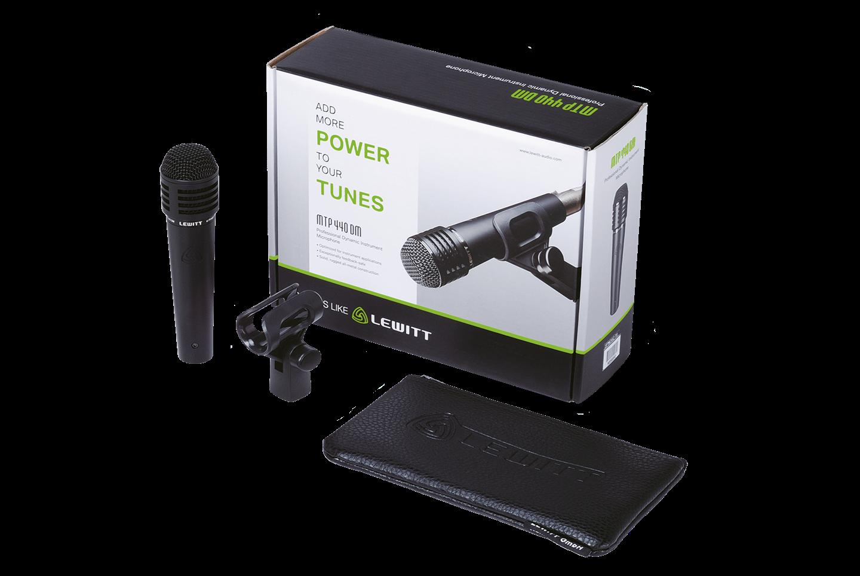LEWITT MTP 440 DM dynamsik mikrofon | Vokal/instrumentmikrofon, kardioide