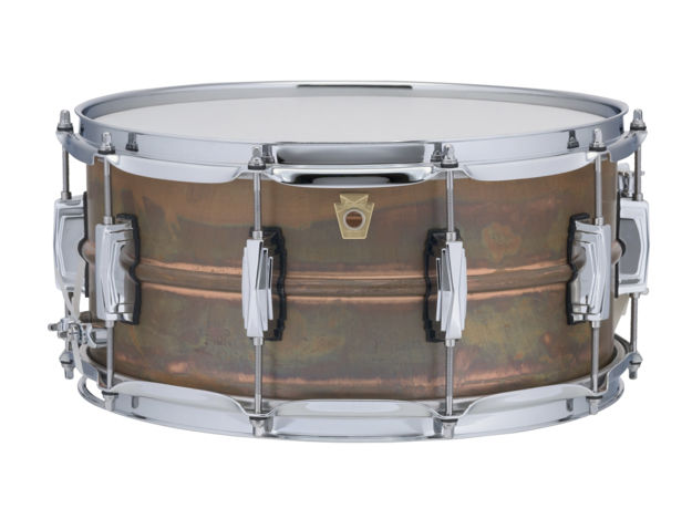 Ludwig Copperphonic LC663, Raw Patina Shell, 14x6,5, Imperial Lugs