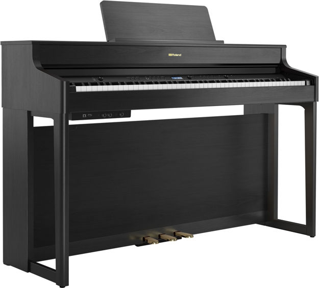 Roland HP702 Concert Class Piano (CHARCOAL BLACK)