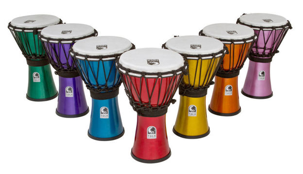 Toca Djembe Freestyle Colorsound  - TFCDJ-7MS