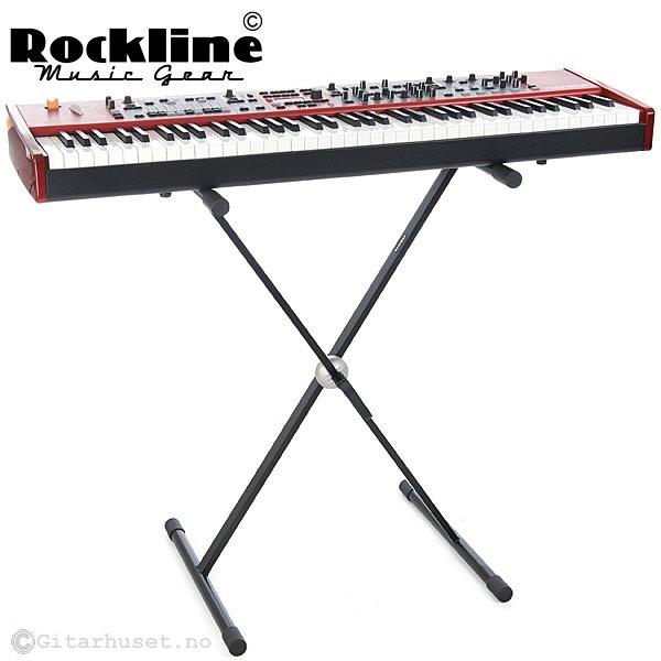 ROCKLINE KS001 SINGLE X KEYB STAND
