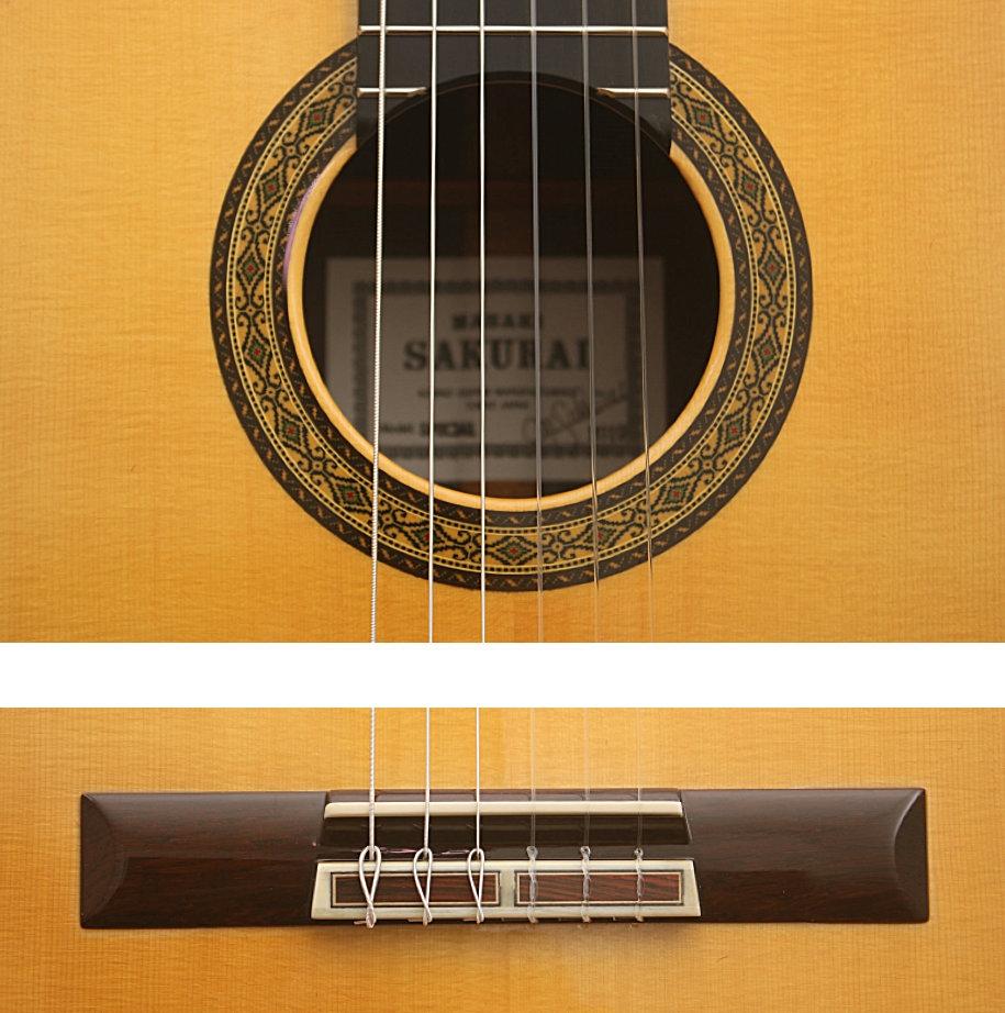 Kohno Sakurai (Japan) - Modell Profesional-J - spruce top, case included.