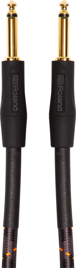 """Roland RIC-G15 15FT / 4.5M INSTRUMENT CABLE, STRAIGHT/STRAIGHT 1/4"""" JACK"""