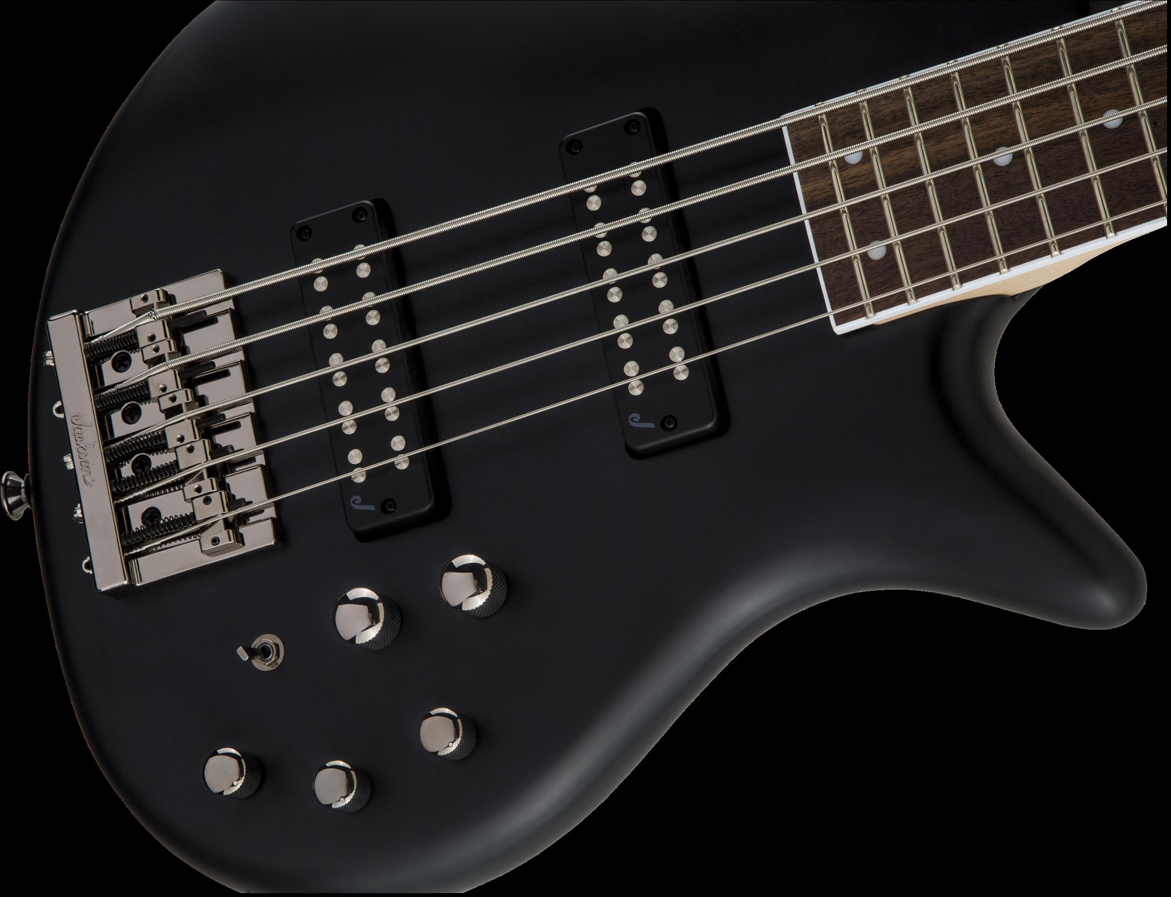 Jackson JS Series Spectra Bass JS3V, Laurel Fingerboard, Satin Black