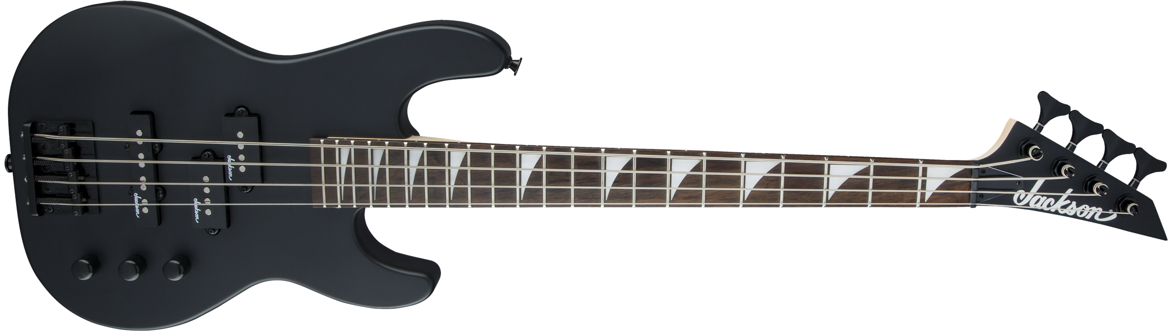 Jackson JS Series Concert Bass™ Minion JS1X, Amaranth Fingerboard, Satin Black