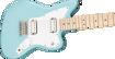 Squier Mini Jazzmaster® HH, Maple Fingerboard, Daphne Blue