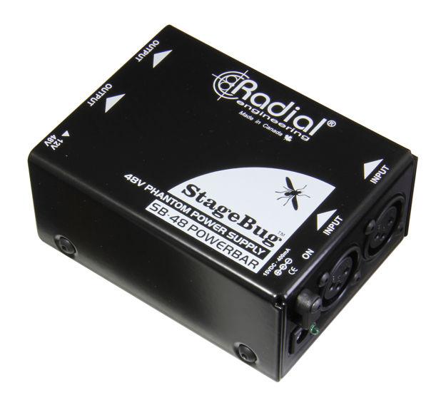 Radial Stagebug SB-48 Phantom Power Supply