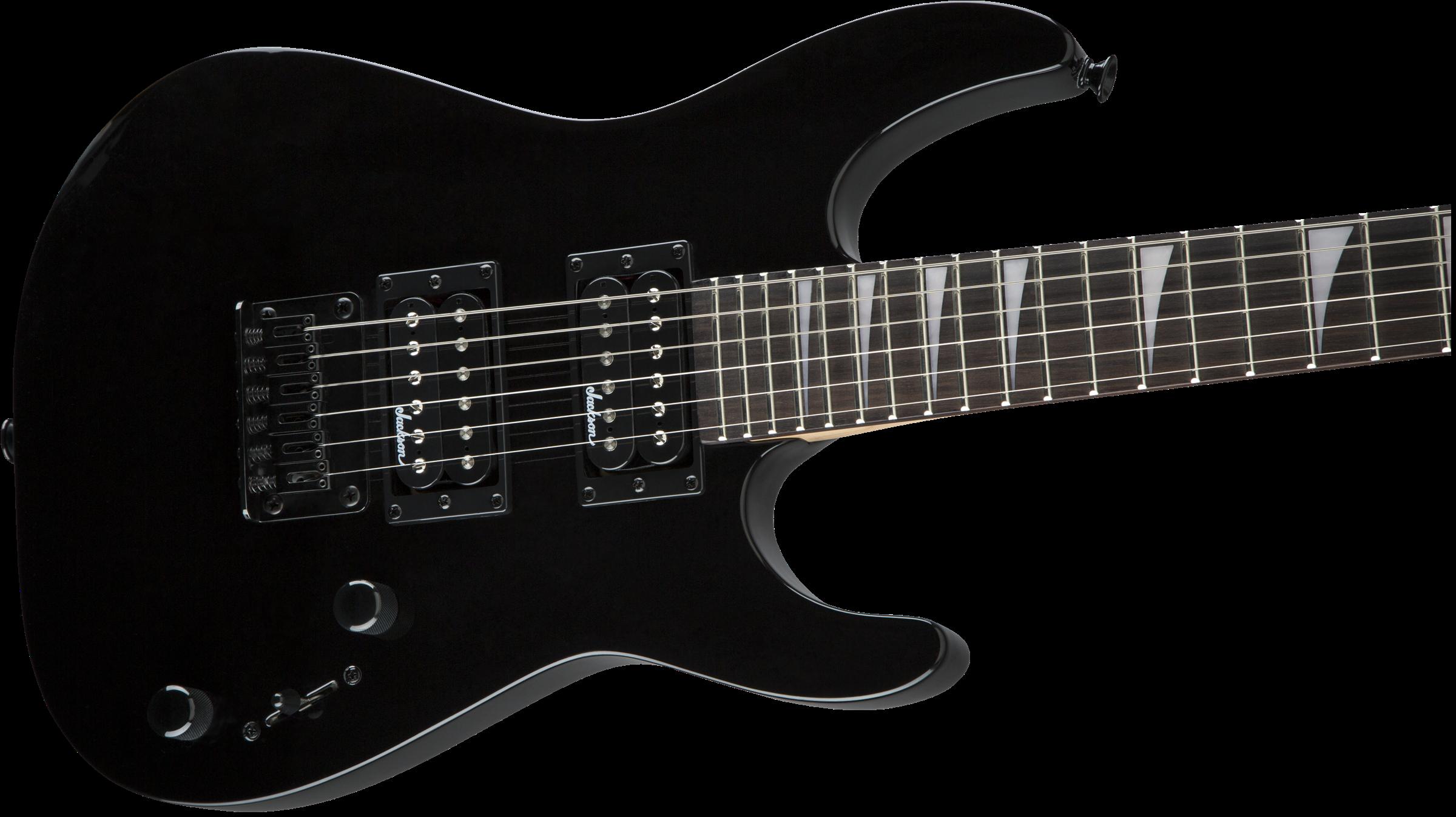 Jackson JS Series Dinky™ Minion JS1X, Amaranth Fingerboard, Gloss Black
