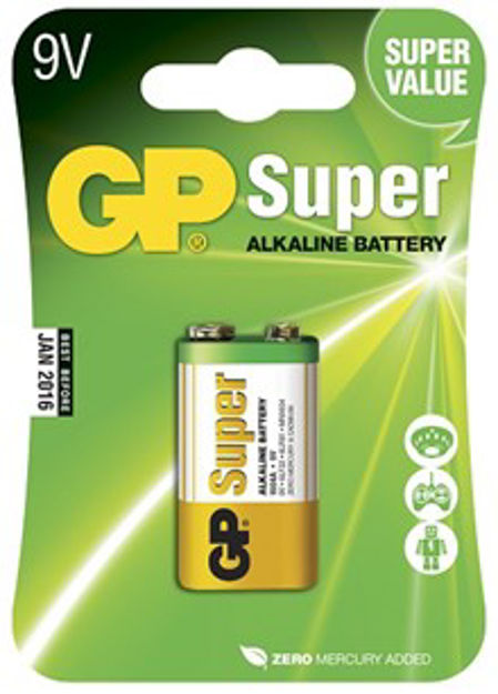 GP Batteries GP 1604A-U1 / 6LF22 / 9V - 1  pack - Blister