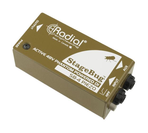 Radial Stagebug SB-4 Active Piezo Direct Box