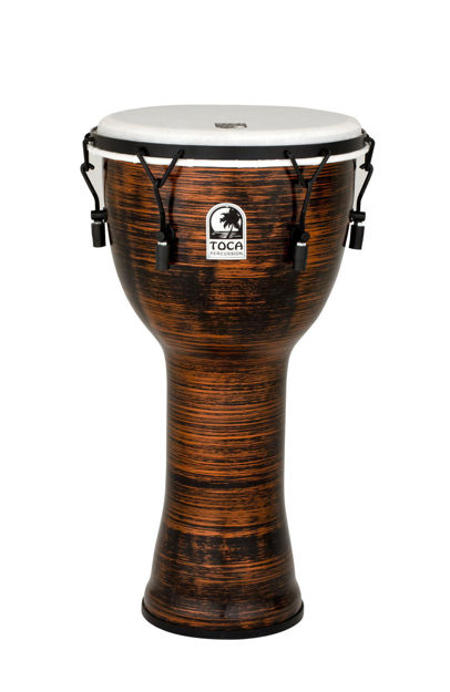 Toca Djembe Freestyle II Mechanically Tuned African Sunset - TF2DM-12AFS
