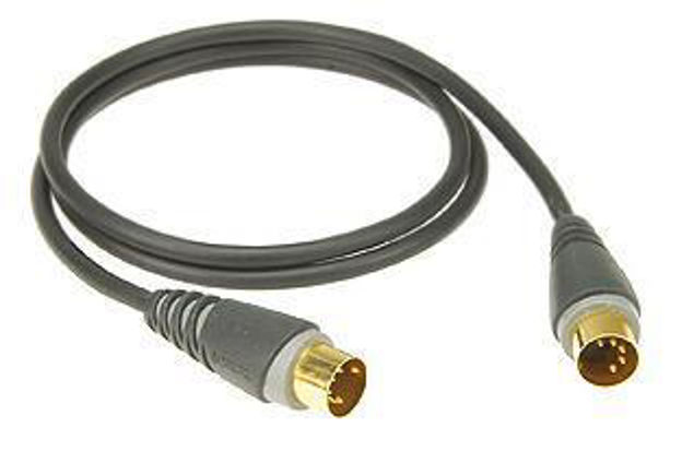 Klotz Midi kabel DIN5-DIN5  3 m